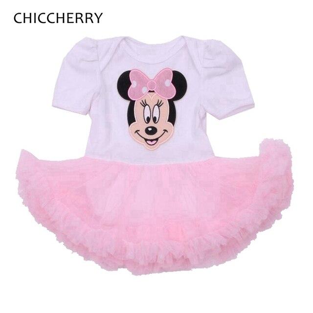 Fantasia Minnie 1 y 2 Año de Cumpleaños Vestido Del Bebé Recién ...