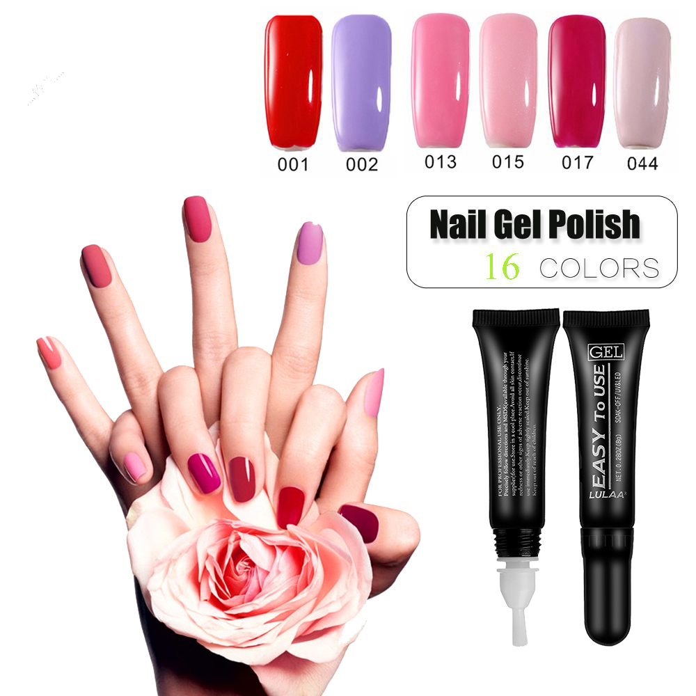 36 Colors New Nail Gel Polish New Design Soak Off Uv Gel Soft Tube For Nail Polish Long-lasting Led Lamp Varnish Nail Art Decor Beauty & Health