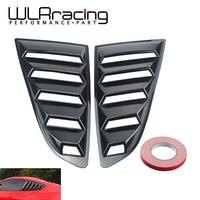 WLR- Sand Sprayed Or Specular or Carbon Fiber Side Window Quarter Scoop Louver Cover For Ford Mustang 2015-17 GT WLR-WLS01/02