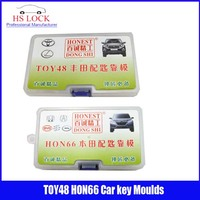 TOY48& Hon66 car key moulds for key moulding Car Key Profile Modeling locksmith tools