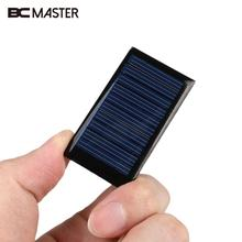 BCMaster 2 piece 5 2x2 9x0 3cm Portable Small Mini 5V 0 15W Solar Panel Bank