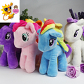 Suspension Hardware Rainbow Horse 20cm Horse can fly Animals Toy Stuffed & Plush Girls Doll Birthday Children Present PY136