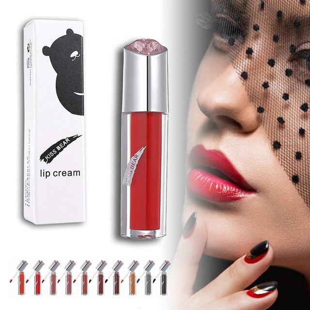 Pintalabios líquido de alta calidad brillo de labios hidratante taza antiadherente maquillaje portátil para mujer