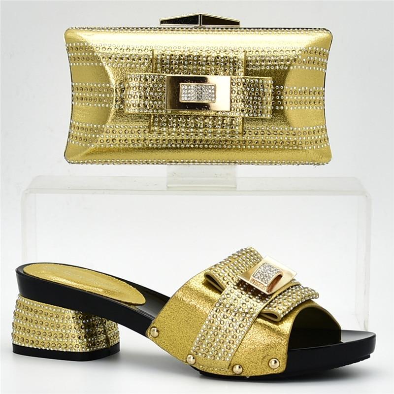 Partido Italiano Bolso Cielo En Para Bolsa Juego Diseño El Zapatos Las A Matching Conjuntos oro Nueva De plata púrpura Ventas Moda Y Mujeres Azul Africano Zapato rojo xnqwAPXOTB