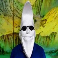 Halloween Mask masquerade latex masks party carnival COSplay latex mask Full head white Latex Mac Moon man Mask