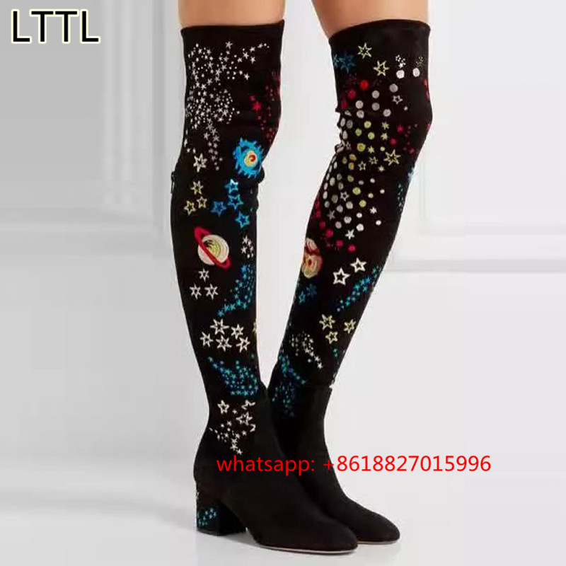 Online Get Cheap Thigh High Boots Designer -Aliexpress.com ...