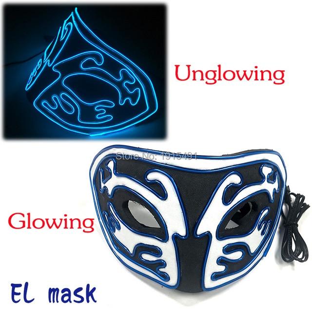 Фото новое поступление светящаяся маска из эва со светодиодной подсветкой