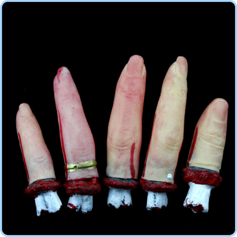 twelfth props severed digit halloween decoration event party supplies halloween props haunted house decorations party decor