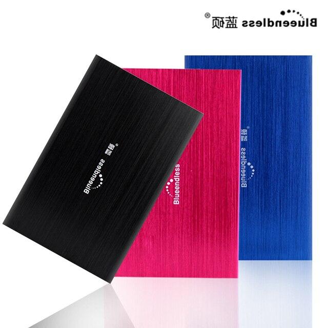 Внешний Жесткий Диск 100 ГБ HDD Портативный Жесткий Диск Для Компьютера и Ноутбука дискотека duro экстерно Устройств Хранения Данных