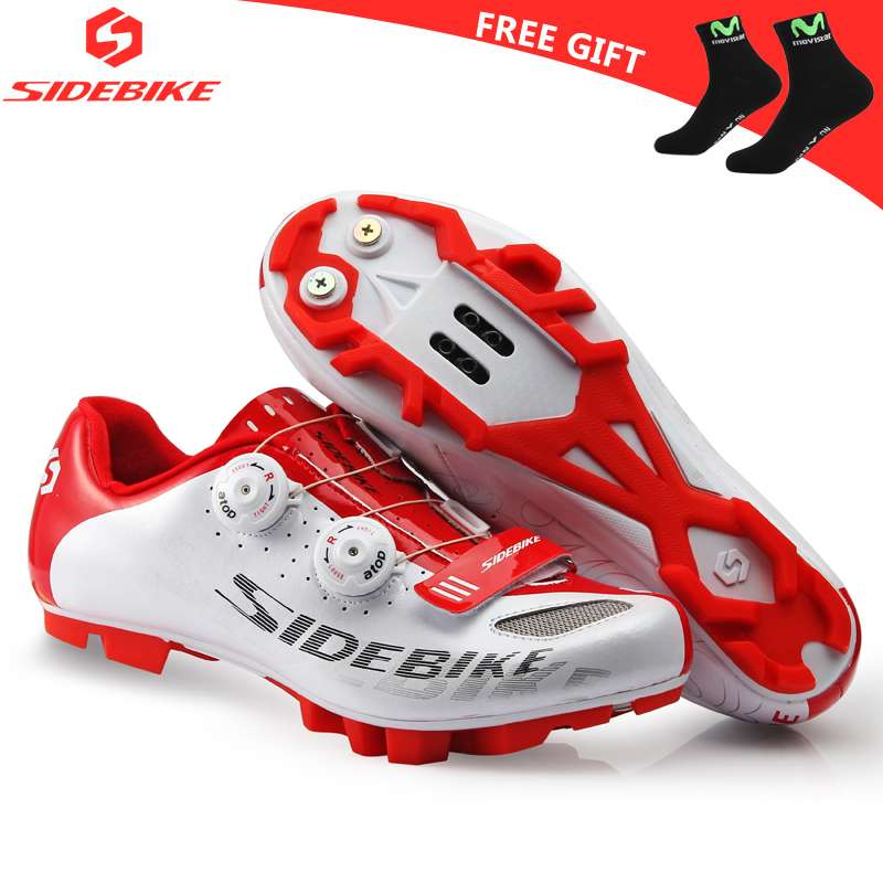 sidebike mtb shoes men professional cycling shoes mountain bike bicycle sneakers nylon sole sapatilha comfortable breathablesidebike mtb shoes men professional cycling shoes mountain bike bicycle sneakers nylon sole sapatilha comfortable breathable