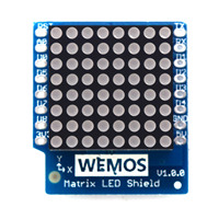 Matrix LED Shield V1 0 0 For WEMOS D1 Mini