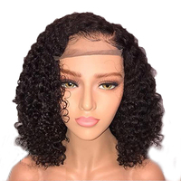 Beeos Glueless Curly Lace Front Human Hair Wigs Pre Plucked Brazilian Remy Hair Lace Wig With Baby Hair Bleached Knots