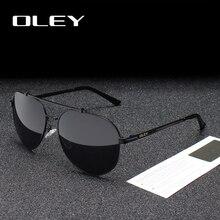OLEY Brand Polarized men Sunglasses women new male driving S