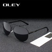 OLEY Brand Polarized men Sunglasses women new male driving S