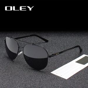 Мужские и женские водительские очки OLEY, брендовые поляризационные солнцезащитные очки, затемненные очки с индивидуальным логотипом
