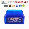 2017 Super Mini ELM327 Bluetooth V2.1 OBD2 Herramienta de Diagnóstico Del Coche Mini OLMO 327 DEL Bluetooth Para Android/Symbian Para OBDII protocolos