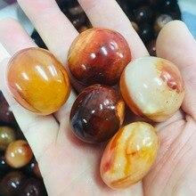5PC natural mini  agate gem
