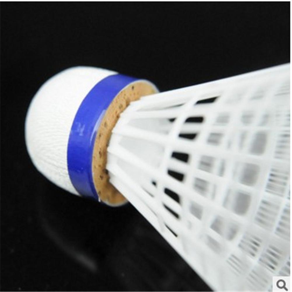 HobbyLane 6 Pcst Badminton Shuttlecocks Goose Feather Badminton Balls Outdoor Sports Badminton Accessories Durable Badminton