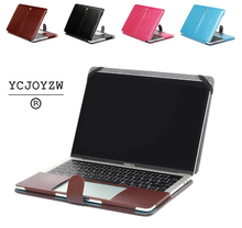 Business Holster PU leather Bag Case For Apple MacBook Air Pro Retina 11 12 13 15`2016 2017 New Pro 13 15 inch with Touch Barcase for apple macbookcase for macbook aircases for macbook