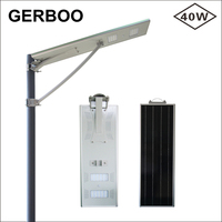 Outdoor New Integrated High Lumen Led Solar Street Light 40W