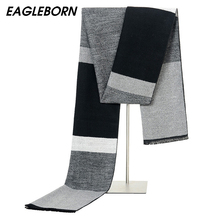 2020 New Men Scarf Color Contract Mufflers Business Casual