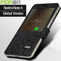 Globale version xiaomi redmi note 4 fall smart flip xiaomi abdeckung mofi fall redmi note 4 globale version fall xiomi redmi note 4 fall