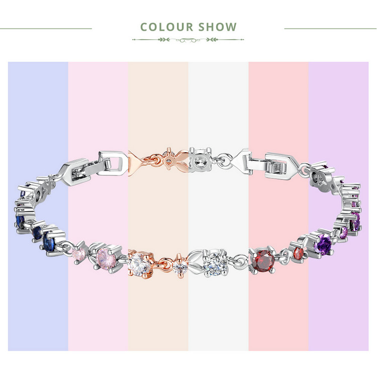 Luxury AAA Cubic Zircon Crystal Bracelet