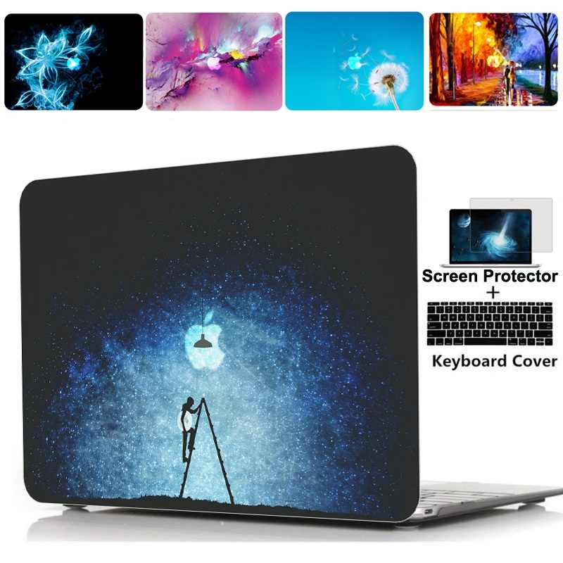 2020 Nieuwe Printing Hard Case Shell Toetsenbord Cover Skin Voor Apple Macbook Pro Air Touch Bar Retina 11 12 13 15 16 Inch Laptop Case
