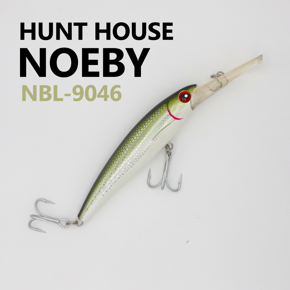 Noeby NBL 9046 16cm 60g floating minnow hard Universal lure available both in saltwater and freshwater
