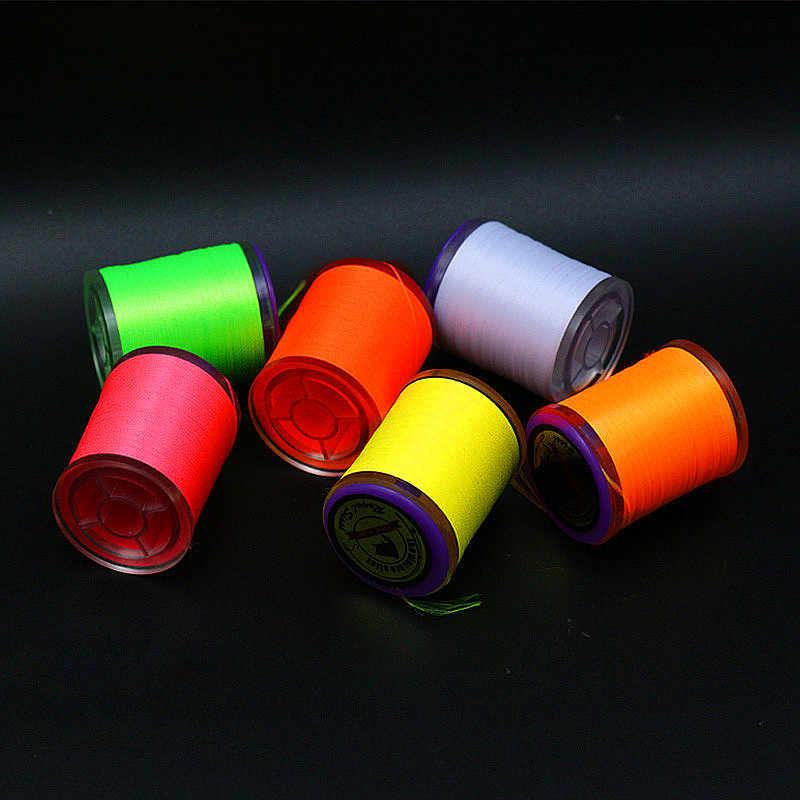 6 UV Fluo Colors Set 6//0 Fly Tying Thread 250yards Per Spool 150D Dubbing Thread