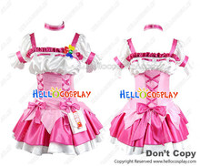 Pretty Cure Cosplay Cure Peach Costume Dress H008(China)