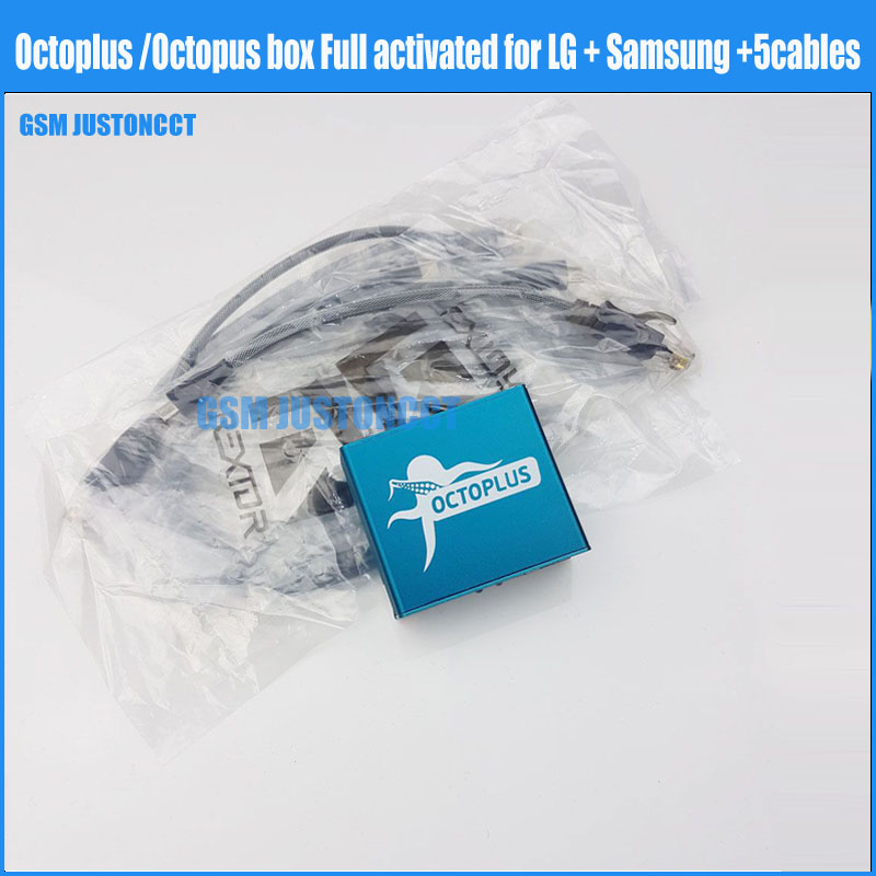 Octoplus box Octopus box Complet activé pour LG pour Samsung + 5 câbles y compris optimus câble