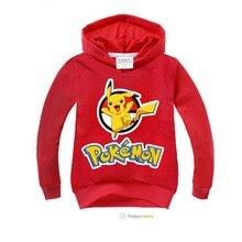 Children Pokemon Hoodies