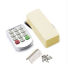 Code Safety Security Keypad Lock Cabinet Door Electronic Password Home Keyless Locker Tools Accessories Useful zinc alloy smart door lock home waterproof intelligent keyless digital electronic password keypad number cabinet door code locks