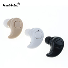 kebidu S530X Mini Wireless Bluetooth Earphone In Ear Stereo Bluetooth Headset Ear Bud Sport Hands Free earphones / Earphone Bag(China)