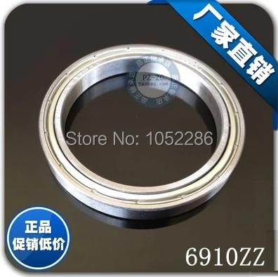 10pcs/lot  6910ZZ  thin wall bearing  6910  6910Z  61910ZZ shielded deep groove ball bearings 50x72x12 mm