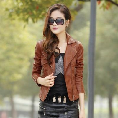 Popular Brown Bomber Jacket Women-Buy Cheap Brown Bomber Jacket ...