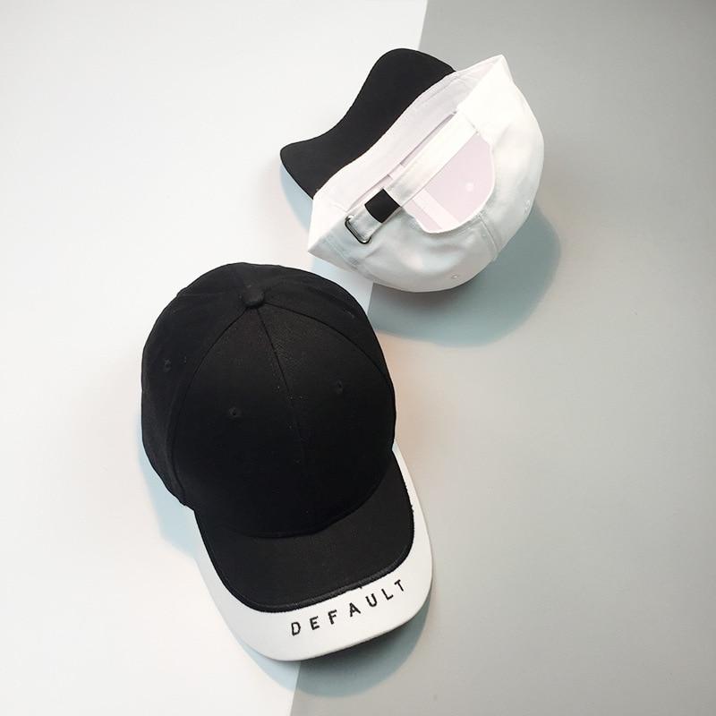 COKK Baseball Cap Women Summer Sun Visor Black And White Snapback Hats For Men Unisex Female Sport Cap Male Hip Hop Casual 2017 1