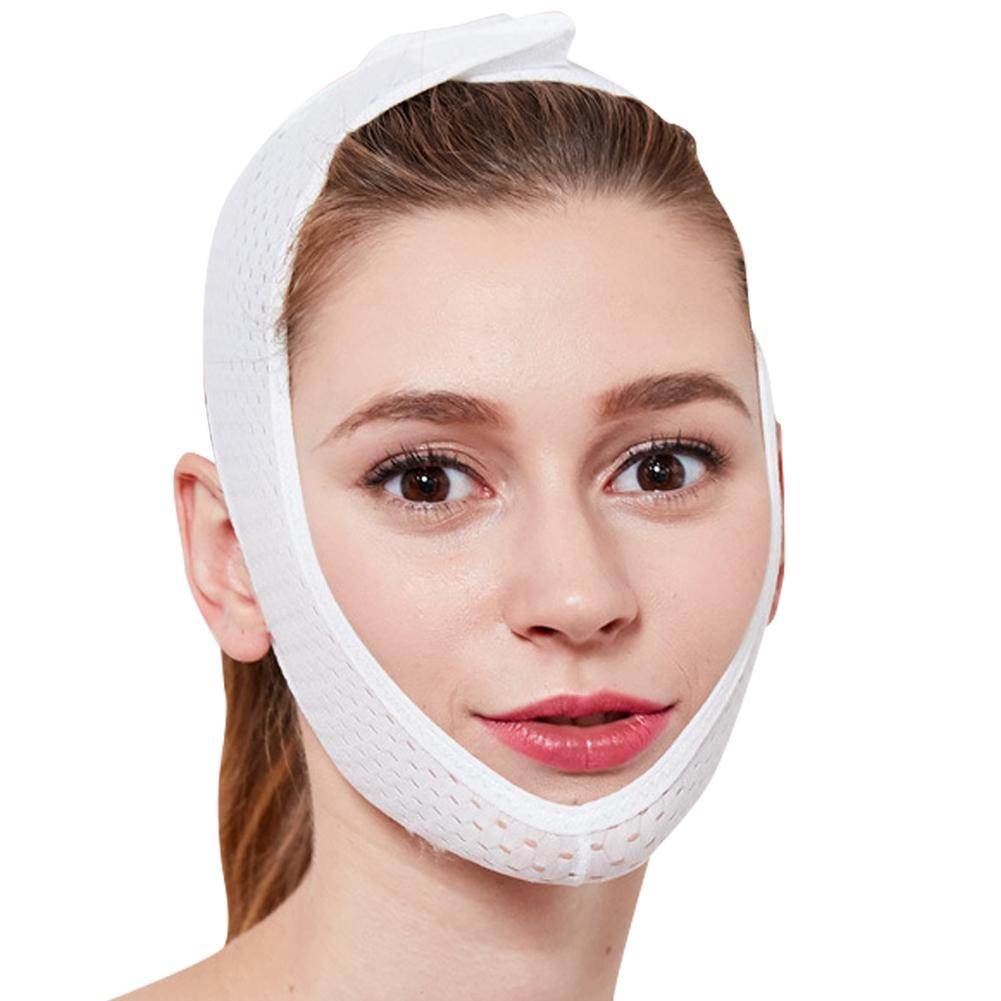 New Facial Thin Face Mask Slimming Bandage Skin Care Belt Double Chin Skin Thin Face Bandage Belt Women Face Care Tools 1PC invisible bra