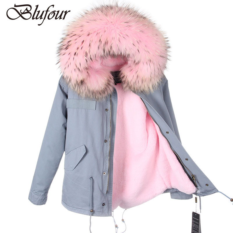 Parkas-For-Women-Winter-2016-Army-Green-Coat-Real-Large-Raccoon-Fur-Collar-Thicken-Cotton-Padded_