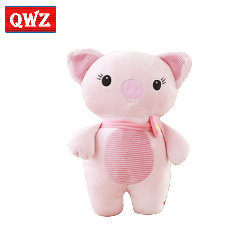 QWZ 35/55CM Cute Cartoon Koala Rabbit Stuffed Toy Stuffed Animal Elephant Pig Doll Kawaii Gift For Childrens Birthday