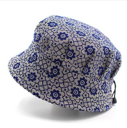 Ženy Matka babička Módní sluneční klobouk Květinový rybář Panama jarní podzim Cap Chapeau Bucket Hat AA0004