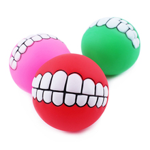 Funny Rubber Squeaky Chew Ball for dogs