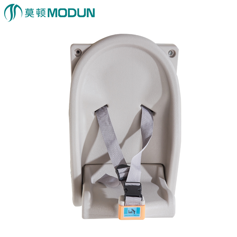 Wall Mount Commerical Bathroom Hygiene Infant Protect Chair Fold Baby Sitting Chair