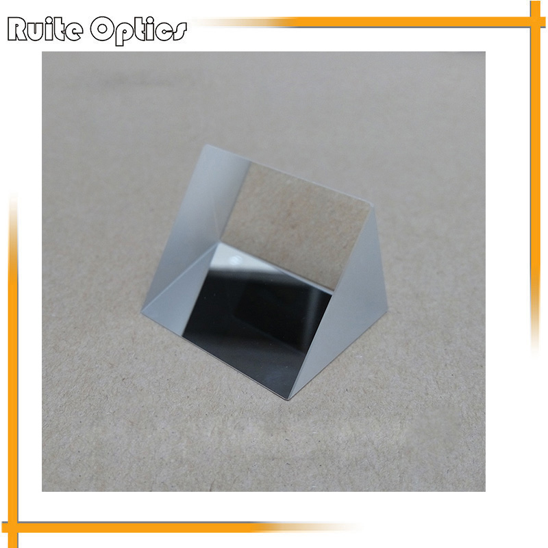 2pcs 40x40x40x40mm K9 Optical Glass Equilateral Triple Triangular Prism For Optical Experiment kzj 108p k9 rectangular prism