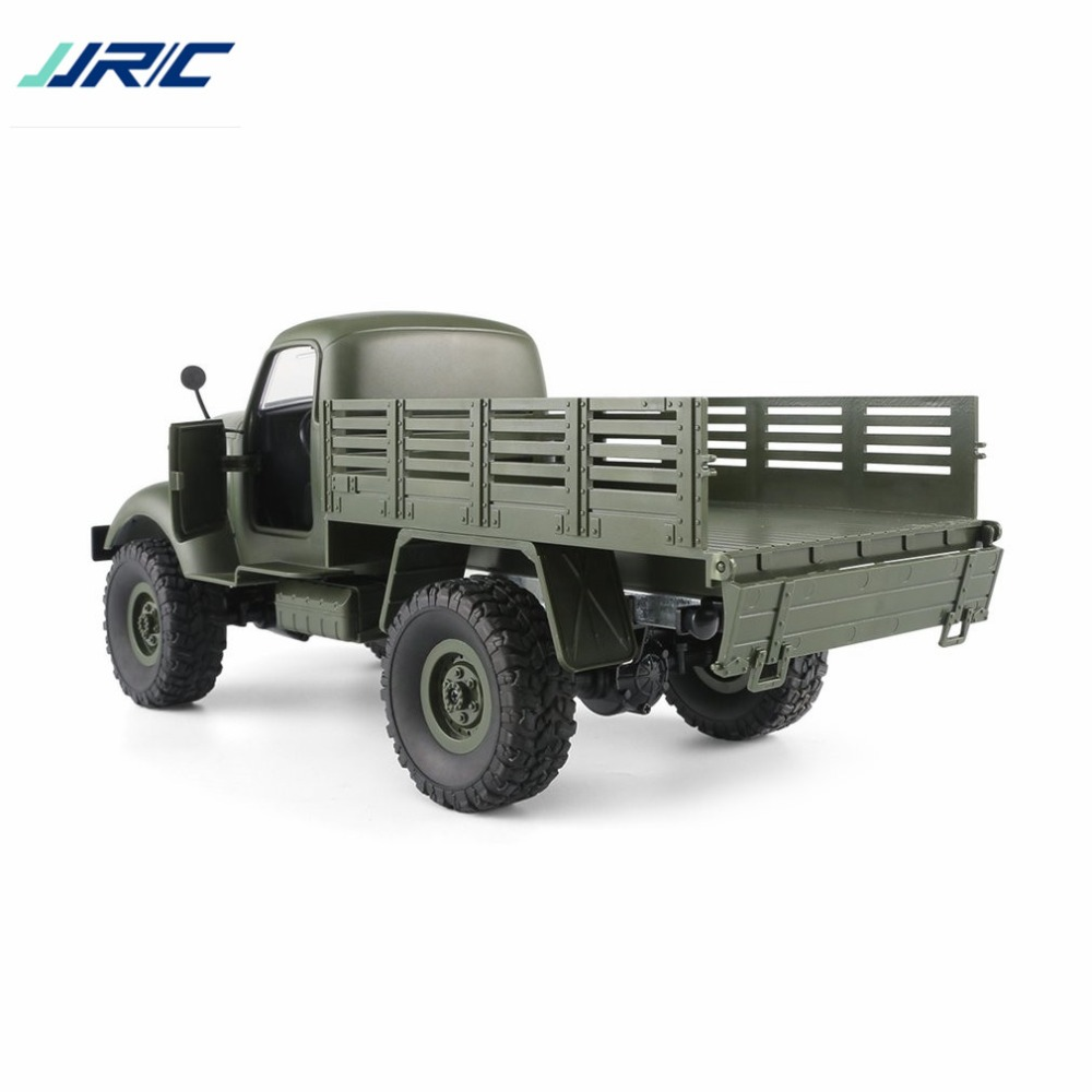 Jjr/c Q61 1/16 2,4g 4wd Rc Off-road Military Lkw Transporter Rc Auto Fernbedienung Fahrzeug Für Kinder Geschenk Kinder Spielzeug Ti Fernbedienung Spielzeug Rc-lastwagen