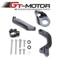 For SUZUKI GSXR1000 GSXR 1000 2009 2015 Motorcycles Adjustable Steering Stabilize Damper Bracket Mount Support Kit