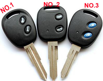 2 Buttons Remote Key Shell For Chevrolet Lova Epica Spark Avoe Car