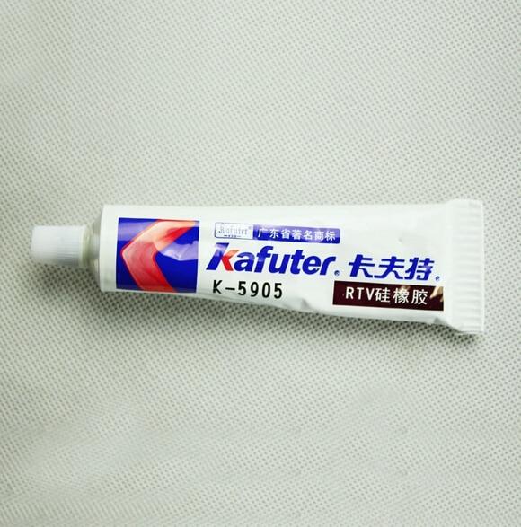 2pcs 45g Kafuter Translucent Paste LDE Special Silicone, K-5905 RTV Silicone Rubber