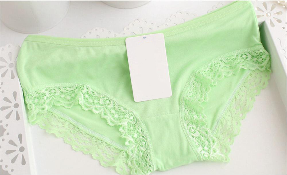 Sexy young girl panties women seamless lace panty comfortable breathable underweare Size M L